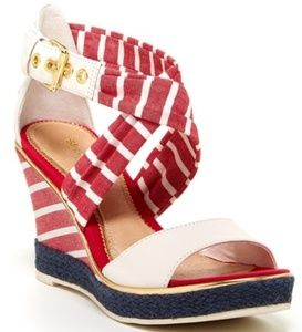 Sperry Aurora Wedge Sandal  Size 9